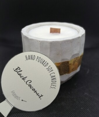 """Soy Candles - """"Cocco Nero"""""""