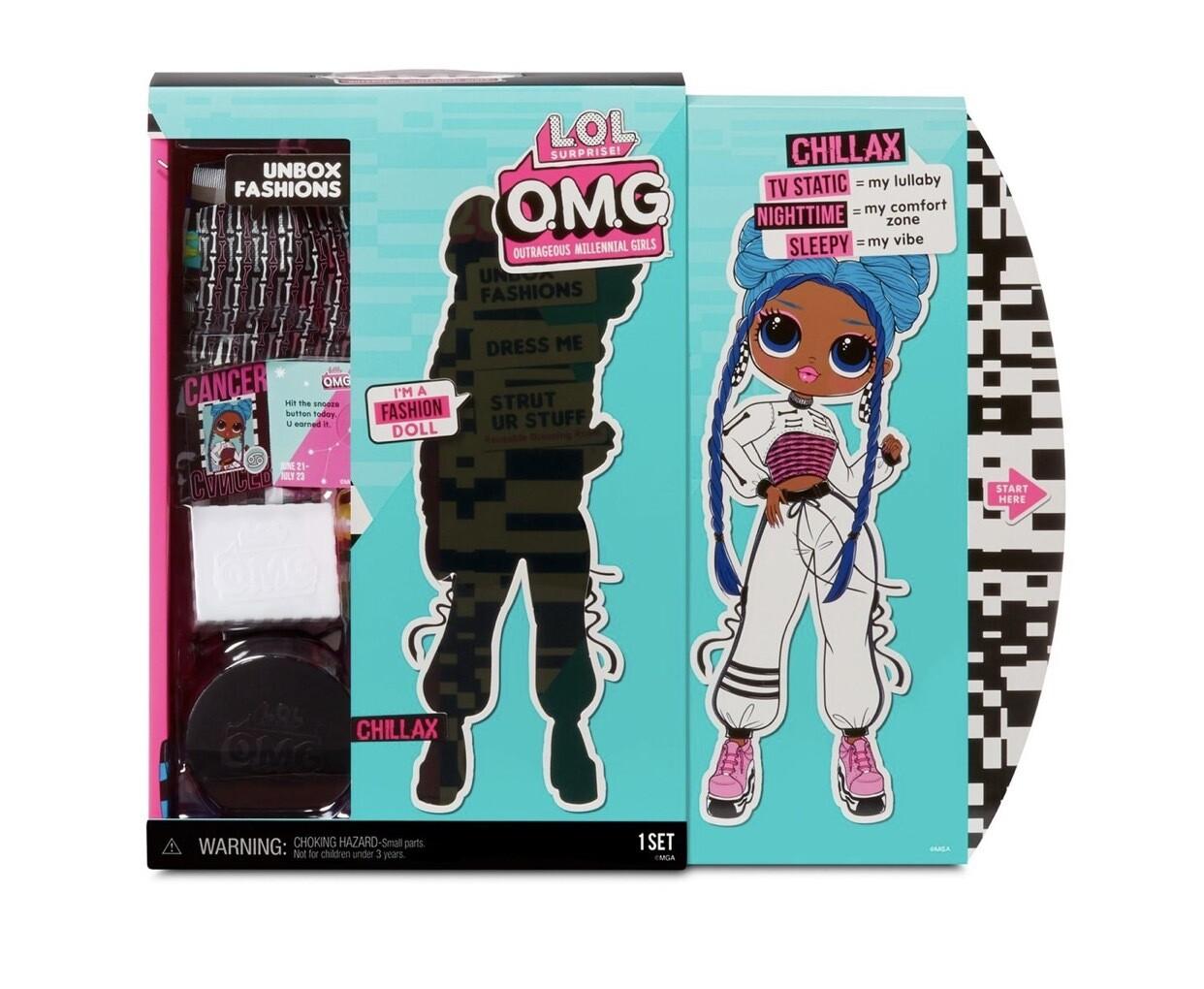 L.O.L. Surprise! O.M.G. Series 3 Chillax Fashion Doll