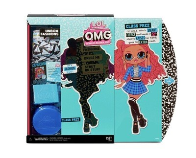 L.O.L. Surprise! O.M.G. Series 3 Class Prez Fashion Doll