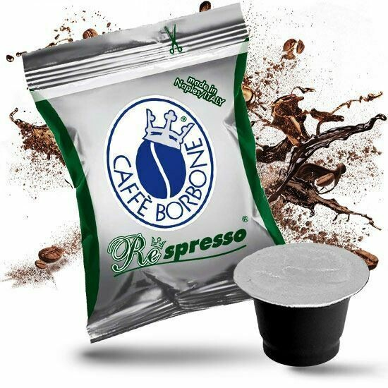 Caffe Borbone Respresso Capsules (50pcs)  DEK, Nespresso Compatible