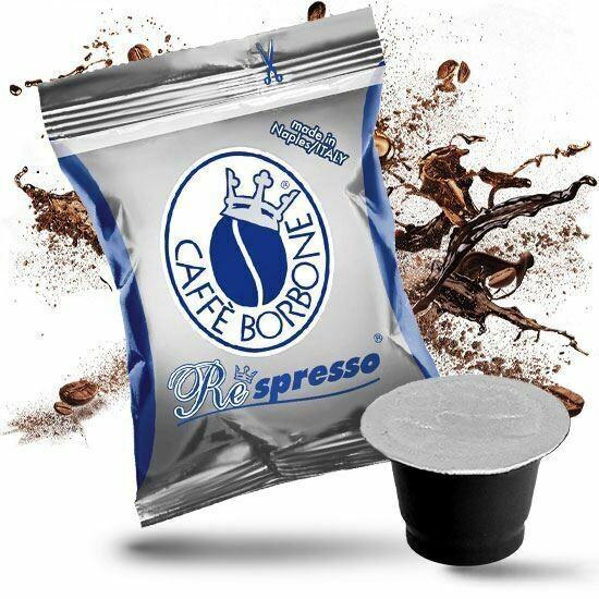 Caffe Borbone Respresso Capsules (50pcs)  BLUE, Nespresso Compatible