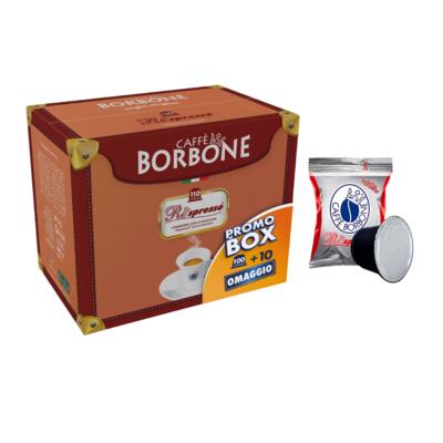 Caffe Borbone (110 PCs) Red, Nespresso Compatible