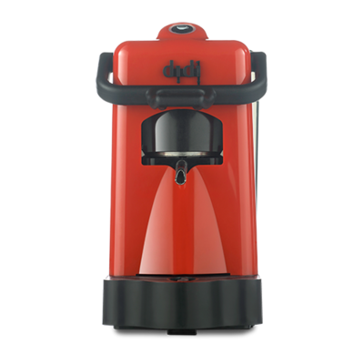 DIDI BORBONE Red coffee machine with Pack Of 80 FREE pods
