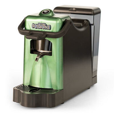 DIDI BORBONE Green coffee machine with Pack Of 80 FREE pods