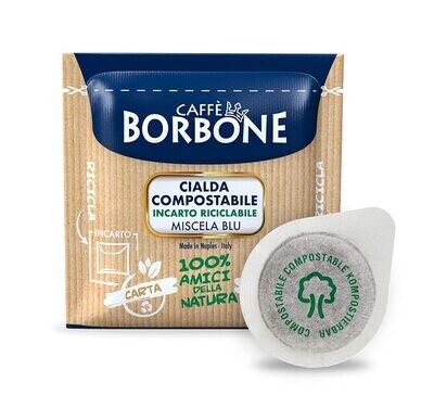 Coffee Pods BLUE Blend Borbone 50 PCs Paper Pods
