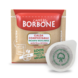 Coffee Pods Red Blend Borbone 50 PCs Paper Pods