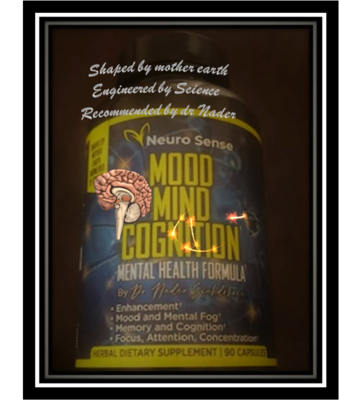NeuroSense All in one Package for him Anti-aging Cream, Facial Stimulator, and Mood Mind Cognition Nootropic