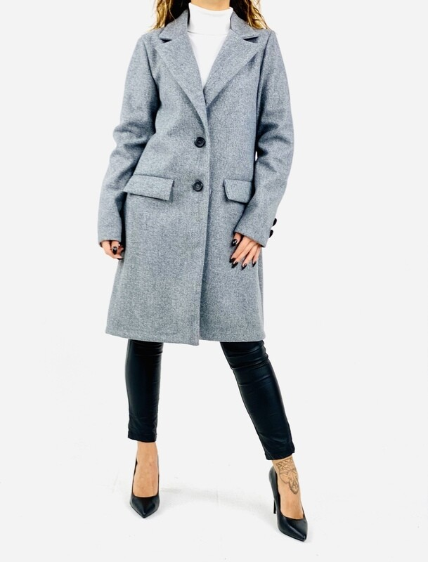 Cappotto tache con pattine  - CT5171