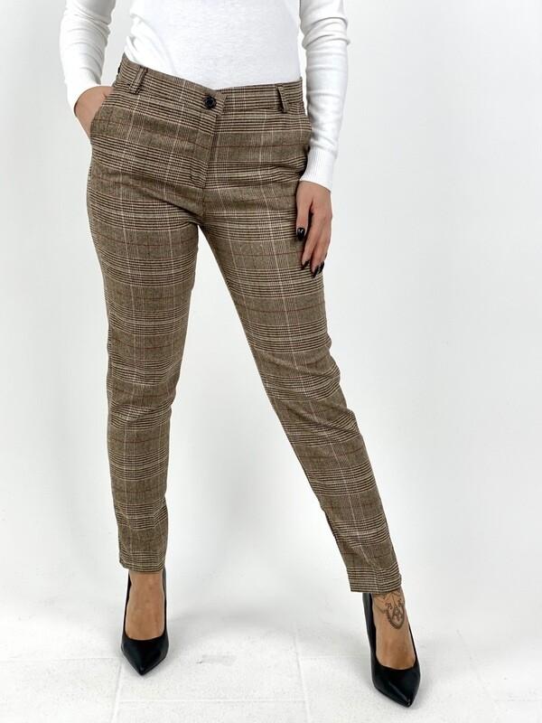 Pantalone in tessuto Principe di Galles  - ACF284