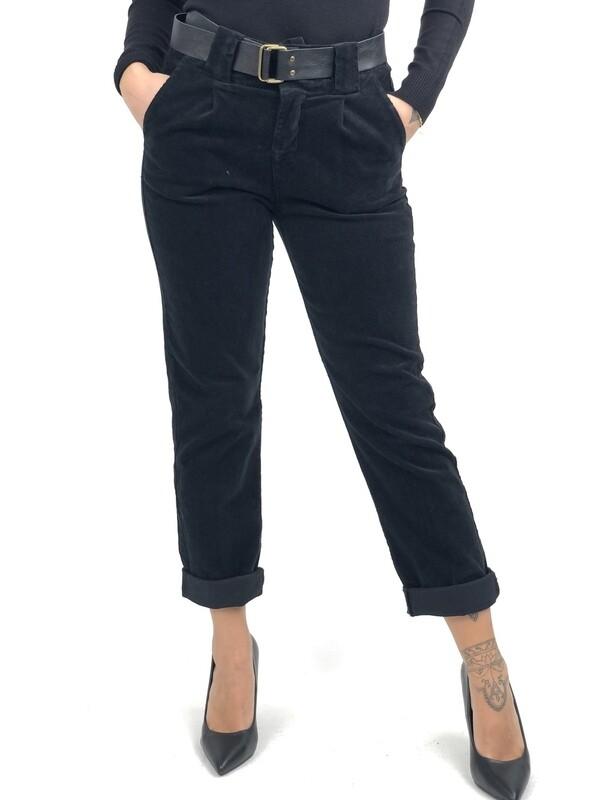 Pantalone lungo in velluto - SRNXM1513