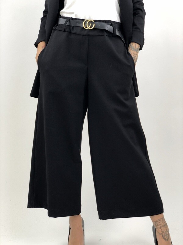 Pantalone larga con vita elastica  - SRNYY9798