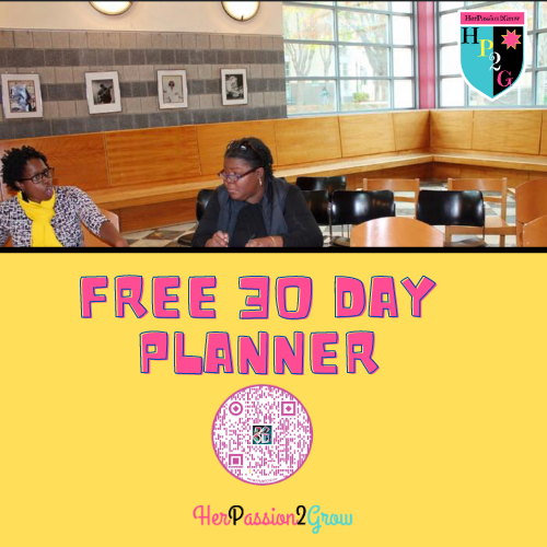 FREE 2 Page Download 30 Day Planner