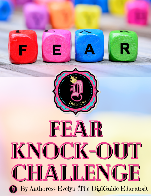 FEAR KNOCK-OUT  CHALLENGE  (DigiGuide Series) Digital Download Only!!