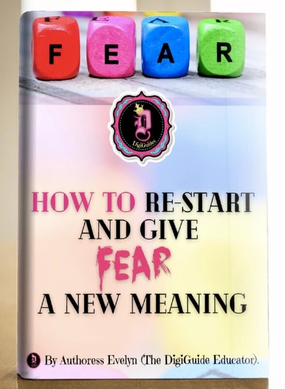 How to Re-Start and Give Fear a New Meaning  ** 62 Page-Digital Workbook**