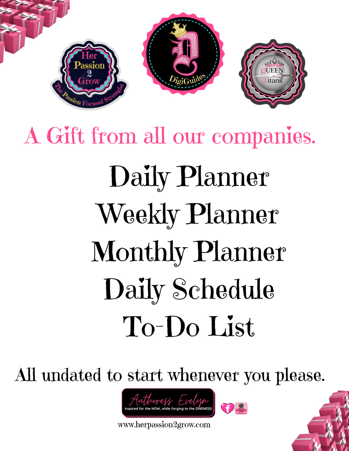 5 Kinds of Planning