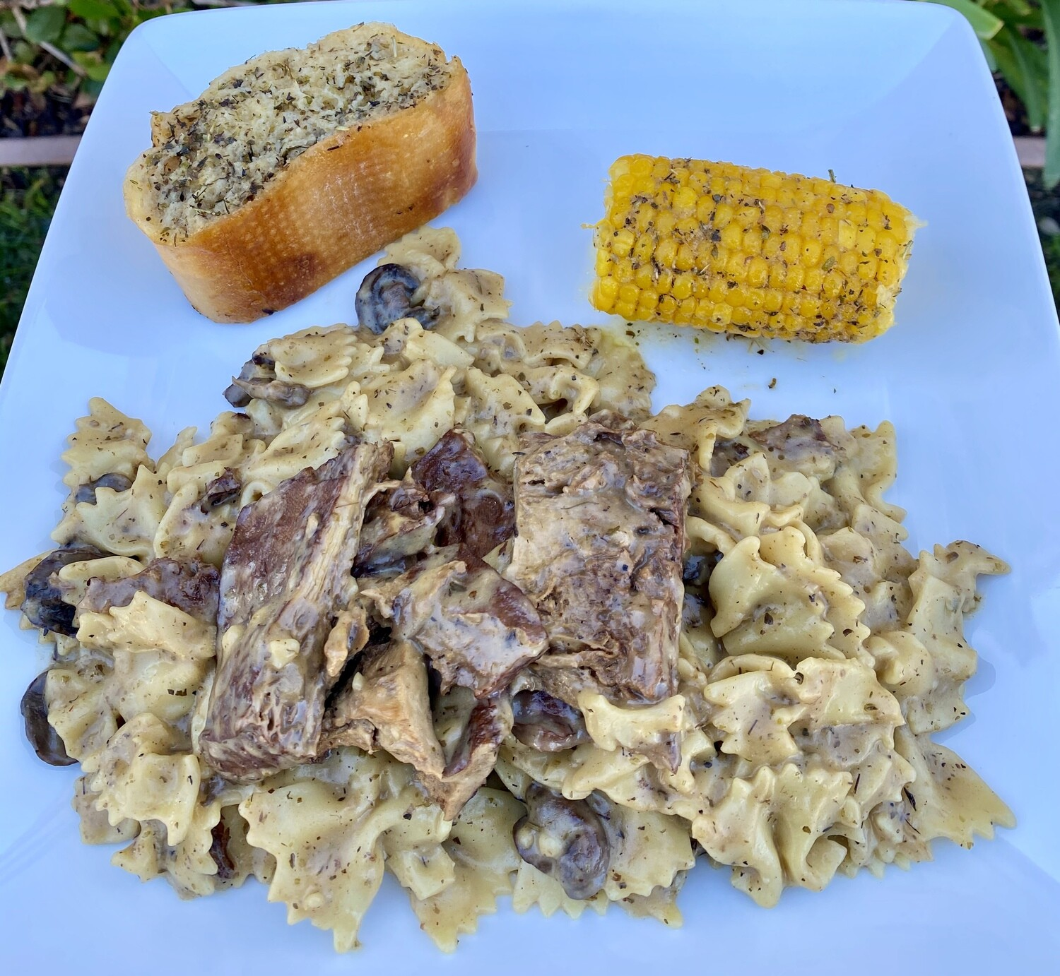 FAMILY MEAL Vegan Beef Stroganoff  Delivery