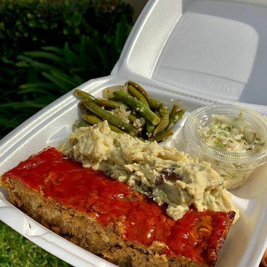 FAMILY MEAL Vegan Meatloaf  Delivery