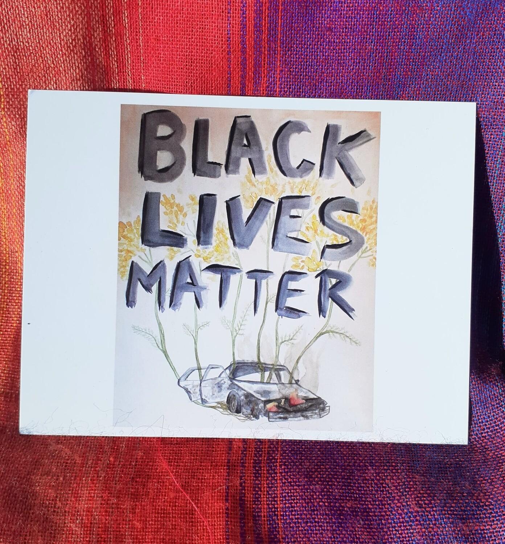 Black Lives Matter Postcard