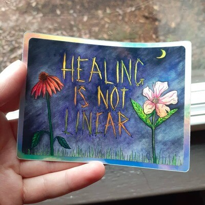 Holographic Healing Is Not Linear Sticker