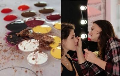 PAKIET 2: Indyw. nauka makijażu + szminka personalizowana 1xLip Experience (elektroniczna karta prezentowa)