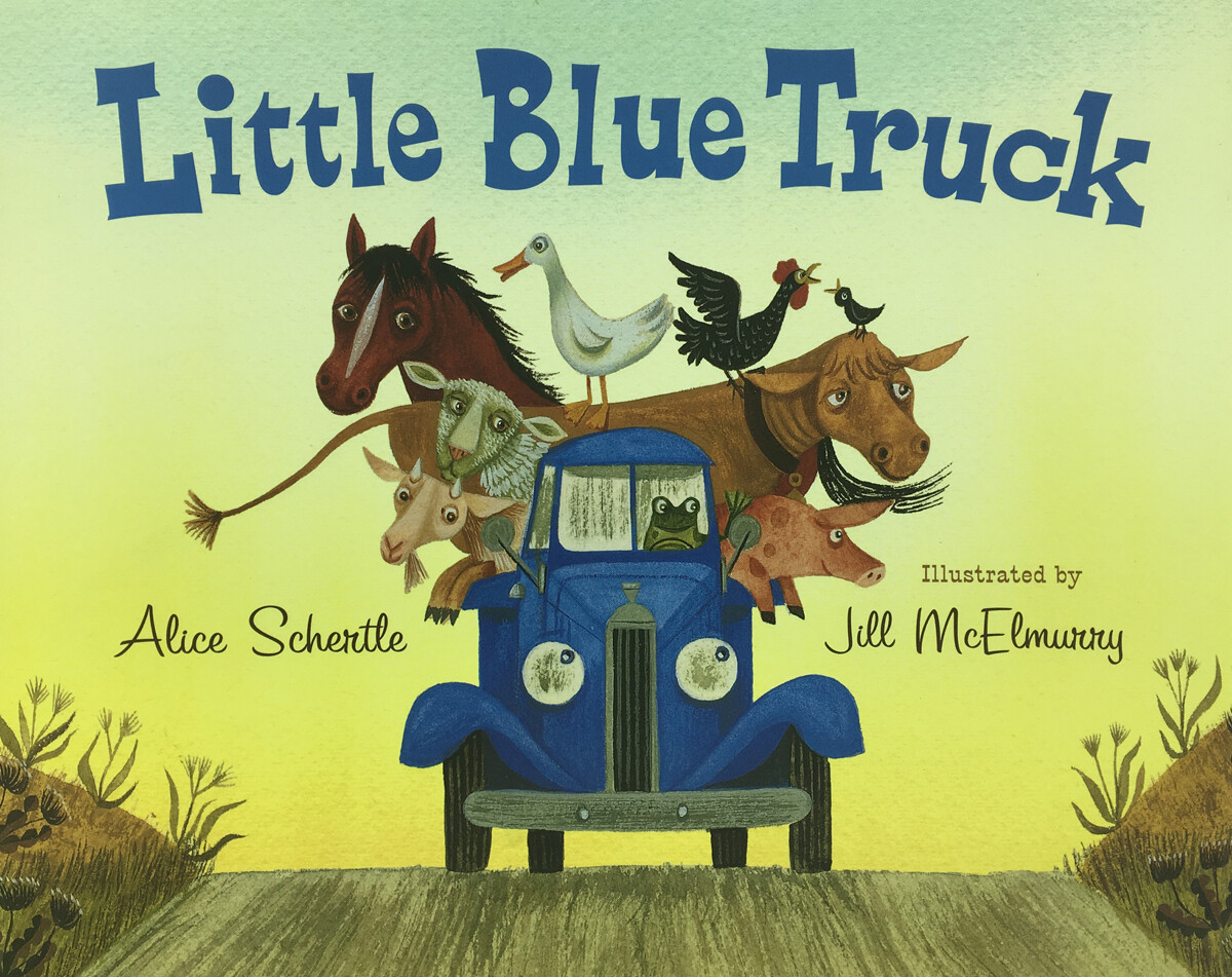 Little Blue Truck Hardback