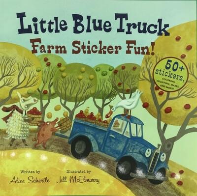 Little Blue Truck Farm Sticker Fun