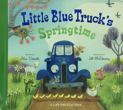 Little Blue Truck Springtime