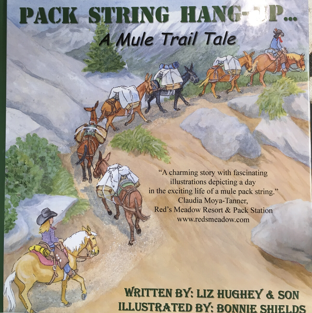 Pack string hang-up