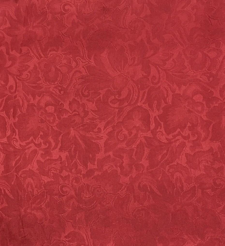 Red Jacquard Wild Rag