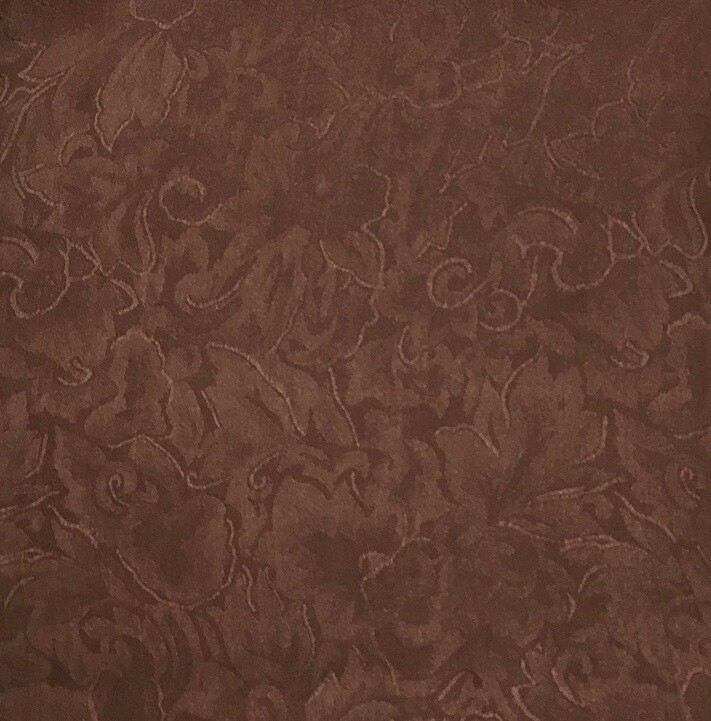 Chocolate Jacquard Wild Rag