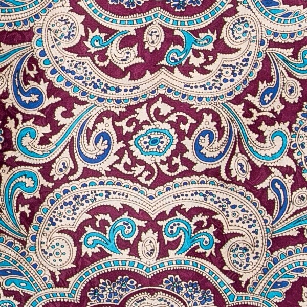 Red/Gold Paisley Wild Rag