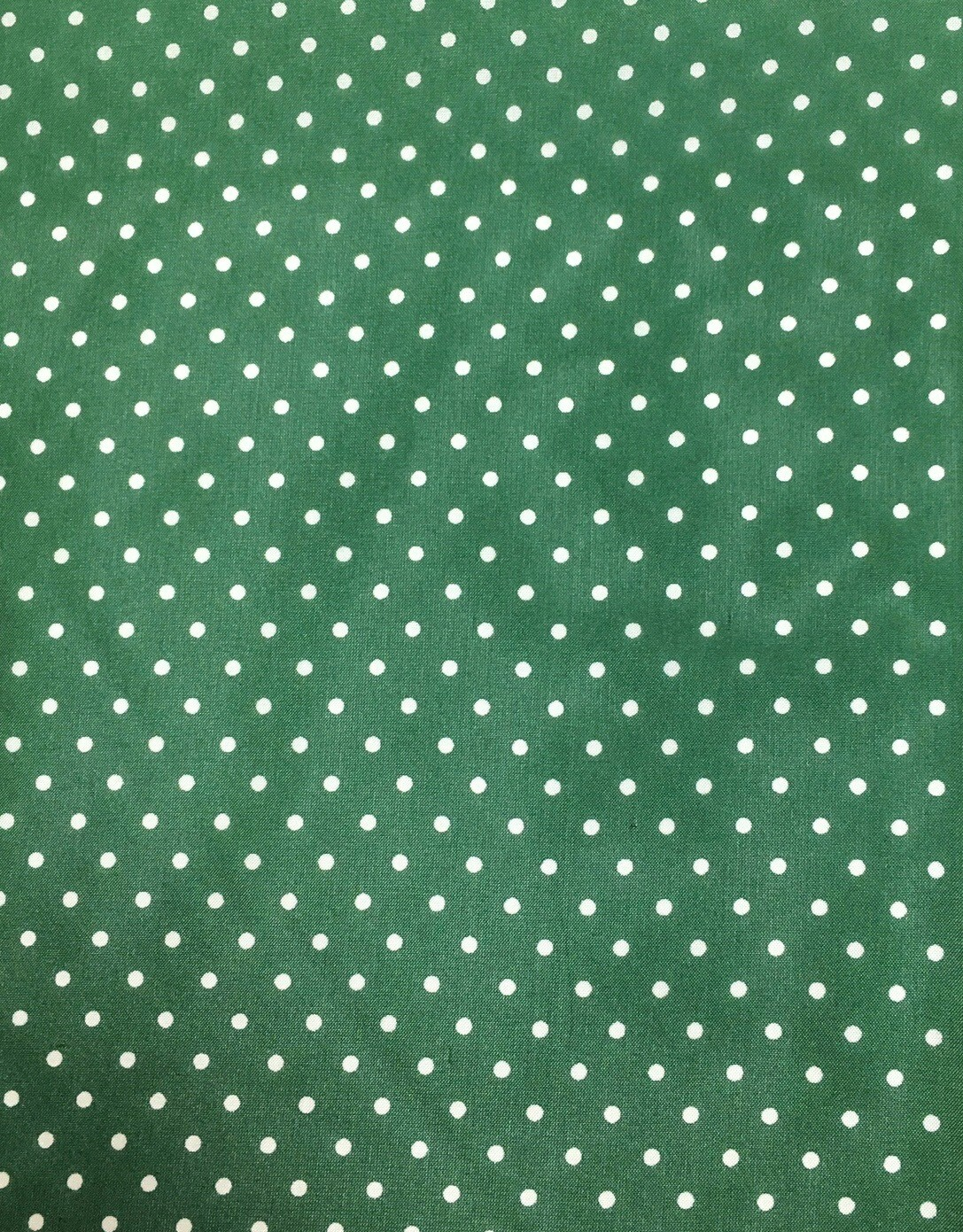 Forest Green Polka Dot Wild Rag