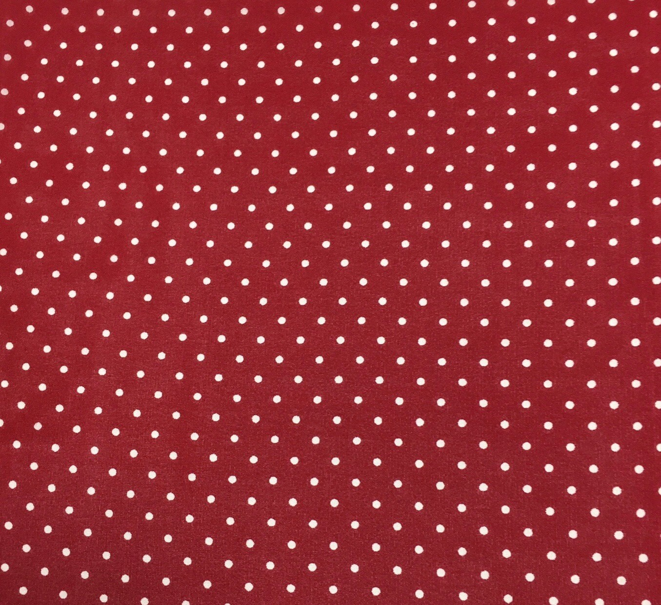 Red Polka Dot Wild Rag