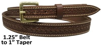 """Basket 1"""" Taper Belt"""
