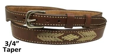 """Aztec 3/4"""" Belt"""