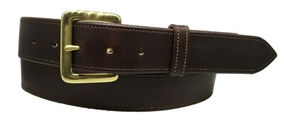 Chocolate Straight Belt