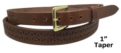 "Carlos 1"" Taper Belt"