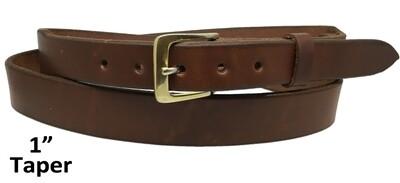 "Plain 1"" Taper Belt"