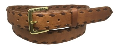 Plain Buckstitch Belt