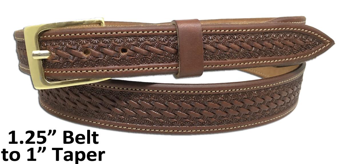 """Deluxe Basket 1"""" Taper Belt"""