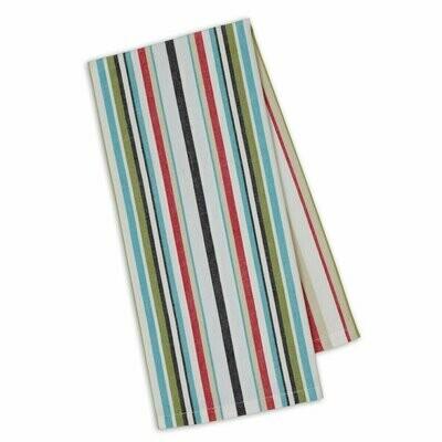 Bloom Stripe Tea Towel
