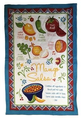 Mango Salsa Tea Towel
