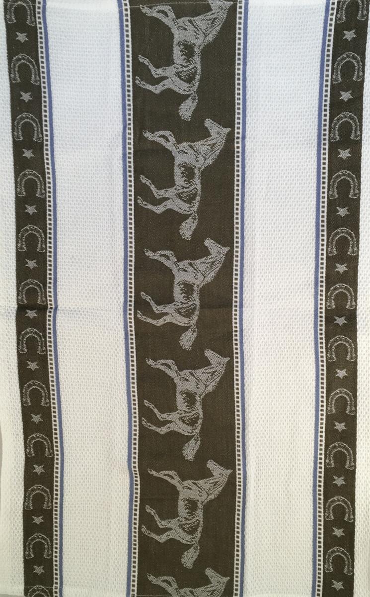 Horse Jacquard Tea Towel