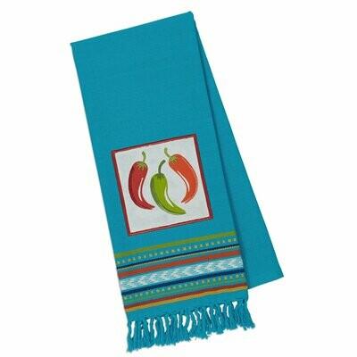 Chili Peppers Tea Towel