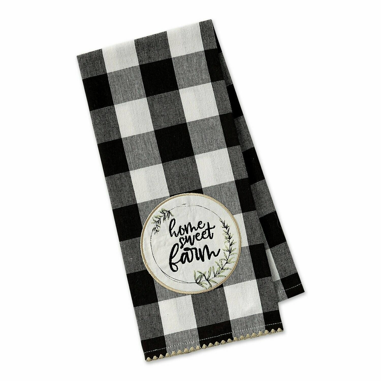 Home Sweet Farm Tea Towel