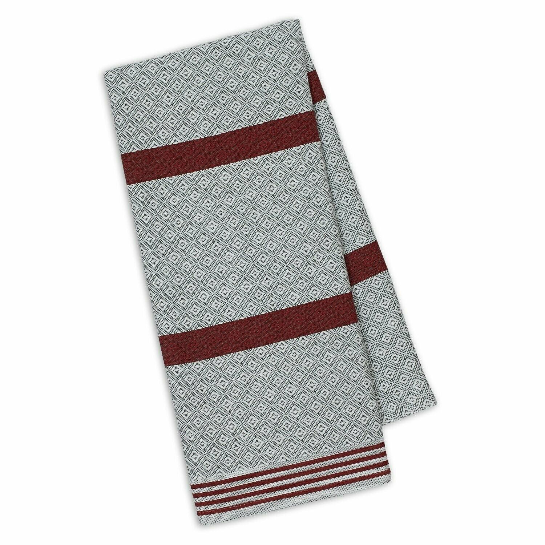 Graphite/Brick Tea Towel