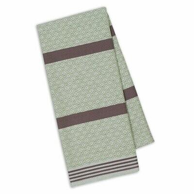 Sage/Grape Tea Towel