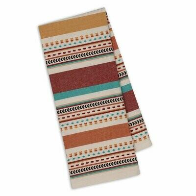 Santa Fe Dobby Stripe Tea Towel