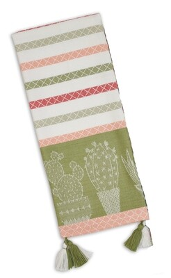 Urban Oasis Tea Towel - Green