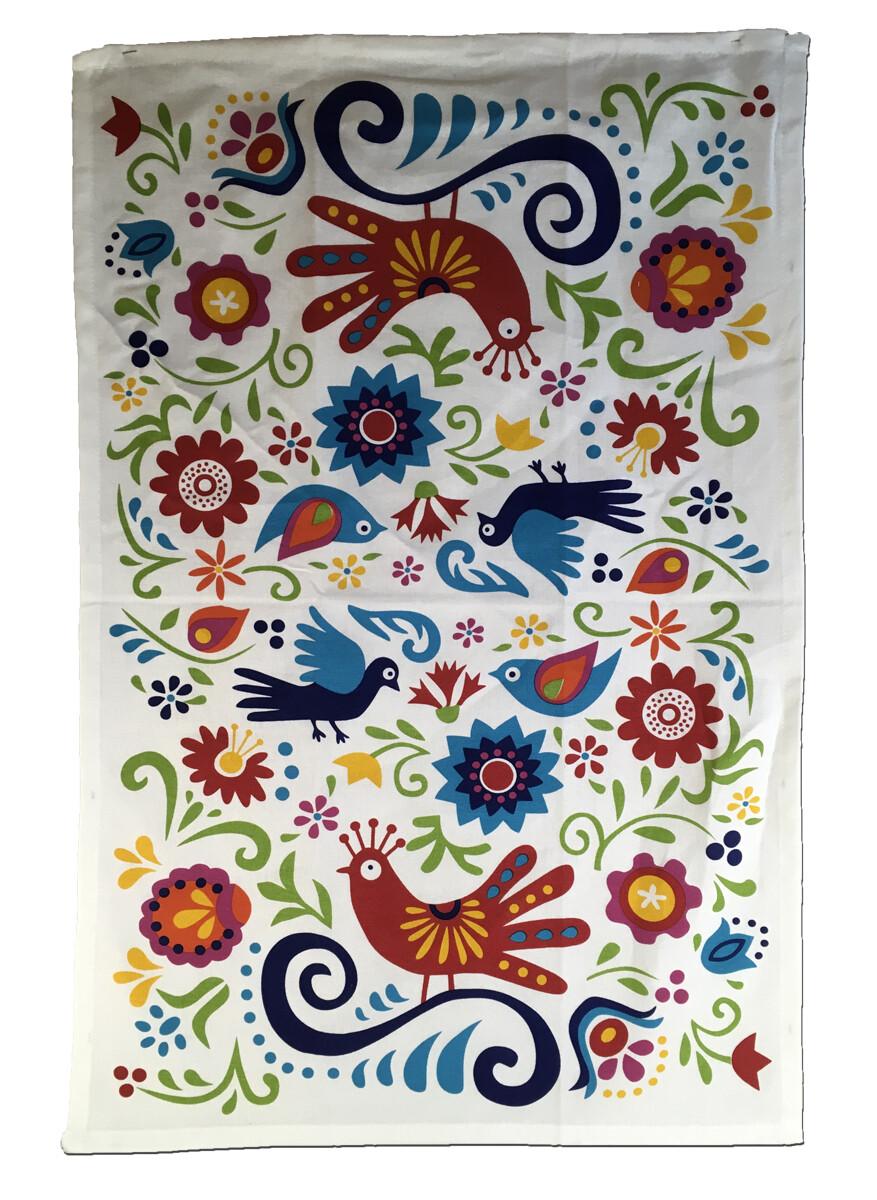 Talavera Print Tea Towel